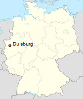 International Shipping from Duisburg, Germany