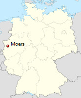 International Shipping from Moers, Germany