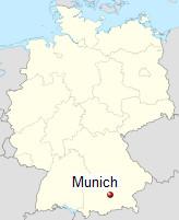 International Shipping from Munich, Germany
