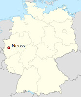 International Shipping from Neuss, Germany