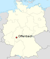 International Shipping from Offenbach, Germany