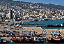 International Shipping from The Port of Haifa, Israel