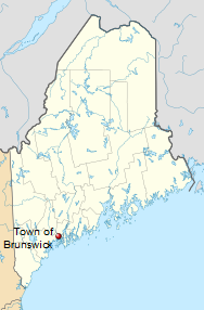 International Shipping to Brunswick, Maine