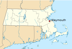 International Shipping to Weymouth, Massachusetts