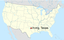 International Shipping to Irving, Texas