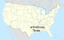 International Shipping to McKinney, Texas