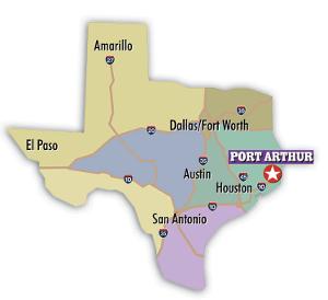 International Shipping from Port Arthur, Texas