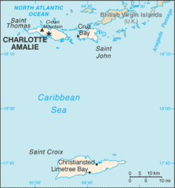 International Shipping from Saint John, Virgin Islands