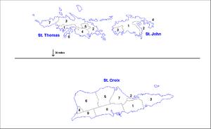 International Shipping from Saint Thomas, Virgin Islands