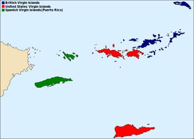 International Shipping form The US Virgin Islands