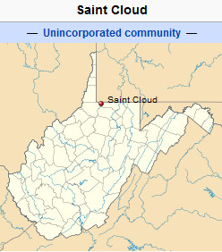 International Shipping from Saint Cloud, West Virginia